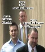 Adam Zuckerman, Aaron Thomas and Ryan Page